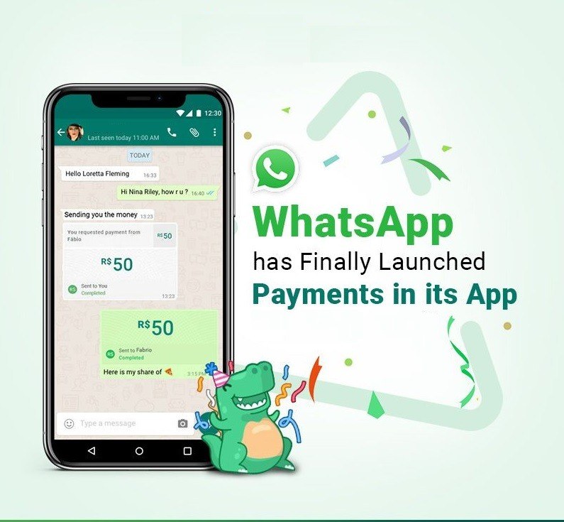 Finally WhatsApp Launched Payment feature in India