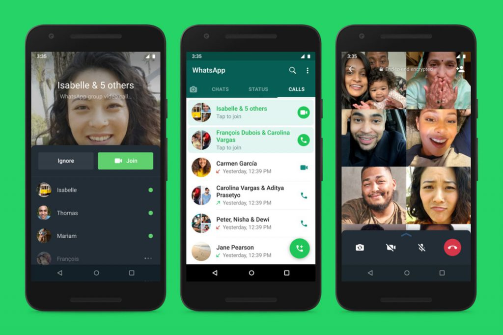 WhatsApp introduces 'joinable calls' feature for group calls.